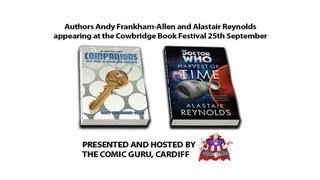 Andy Frankham-Allen & Alastair Reynolds Dr Who Event, Cowbridge Book Festival 25/09/13 (Pt 1)