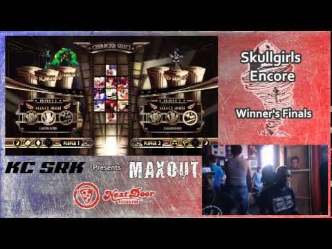 MAXOUT 6212014  Skullgirls Encore Tournament
