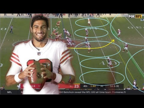 film-study:-how-jimmy-garoppolo-led-the-san-francisco-49ers'-comeback-victory-over-the-cardinals