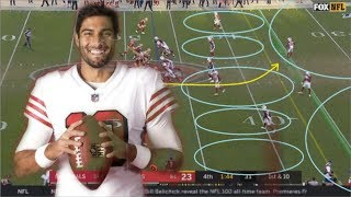 Film Study: How Jimmy Garoppolo led the San Francisco 49ers' comeback victory over the Cardinals