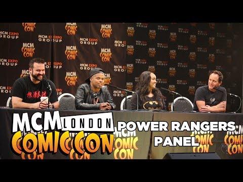 MCM Mighty Morphin Power Rangers Panel 2017 London | Airlim