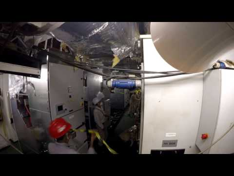 IMESA - HV switchboard Installation on board of Castorone Pipe Laying Vessel