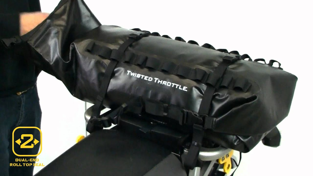 Waterproof Luggage For Your Motorcycle Dryspec D28 Dual End Dry Bag