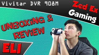 vivitar dvr 908m unboxing and test