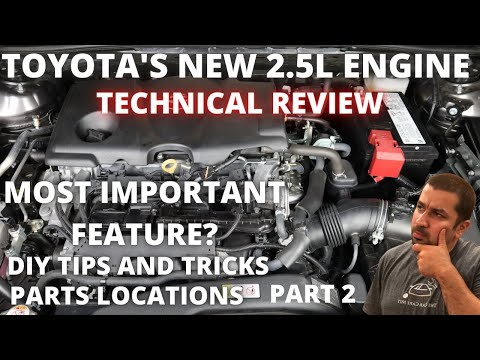 Toyota's New Engine Technical review Part 2 : Variable Valve Timing, DIY tips  and Parts location