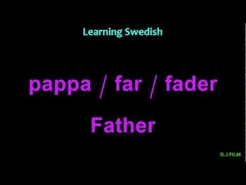 Tiếng Thụy Điển bài 12: Gia đình bạn có mấy người?