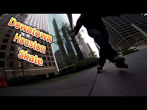 #158 Downtown Houston Skate (Narrated)