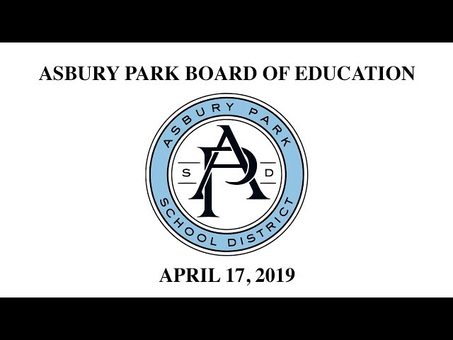 Asbury Park Board of Education - April 17, 2019