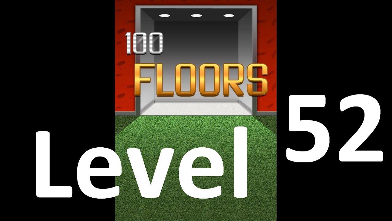 100 Floors Level 52 Solution Floor 52 Youtube