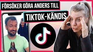 Försöker göra Anders till TIKTOK-kändis på en vecka