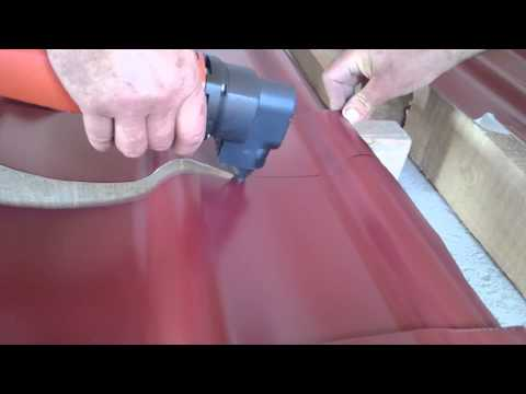 Fein RSs 638-5 cutting metal roofing