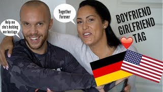 BOYFRIND GIRLFRIEND TAG  GERMAN GUY AMERICAN GIRL