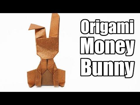 Origami money bunny-Jo Nakashima