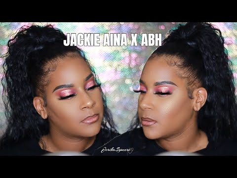 IT FINALLY CAME! JACKIE AINA X ANASTASIA BEVERLY HILLS PALETTE TUTORIAL | Halo Eye Hooded Lids thumbnail