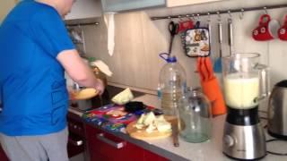 Процесс приготовление Капустного кваса