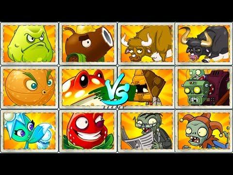 Plants vs Zombies 2 Gameplay Every OP Plants Power UP vs Gargantuar and OP Zombies by Primal PVZ 2