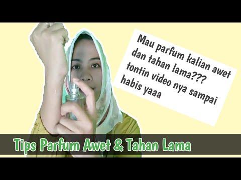 Tips Supaya Parfum Awet Dan Tahan Lama