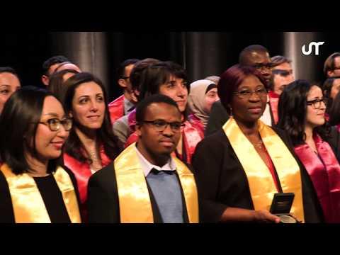 Cérémonie de remise des diplômes de doctorat 2019