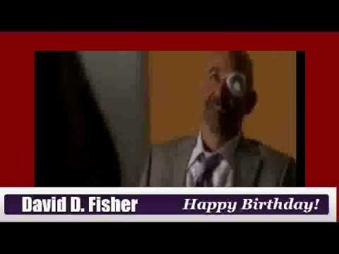 Happy Birthday David Dayan Fisher!