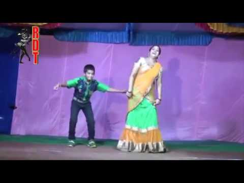 Telugu stage dance/Half saree girl