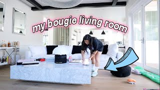 MY BOUGIE LIVING ROOM + my jewelry collection!!