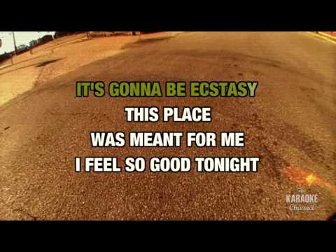 New York Groove in the style of Ace Frehley | Karaoke with Lyrics