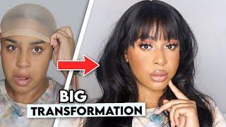 UN GLOW UP DE FOU ! Makeup & Hair Transformation