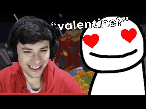 Dream asks George to be his Valentine… [Stream Highlights]