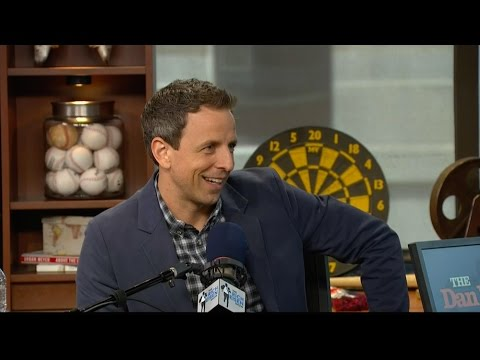 "Host Seth Meyers of NBC's ""Late Night with Seth Meyers"" Joins The RE Show in Studio - 5/11/16"