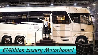 £1MILLION Luxury Motorhome! - Concorde Centurion