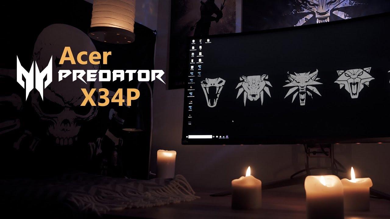 Acer Predator X34P Review | Lim's Cave