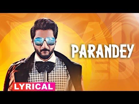 Paranday (Lyrical) | Bilal Saeed | Latest Punjabi Songs 2019 | Speed Records