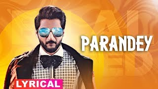 Paranday (Lyrical) | Bilal Saeed | Latest Punjabi Songs 2019 | Speed Records