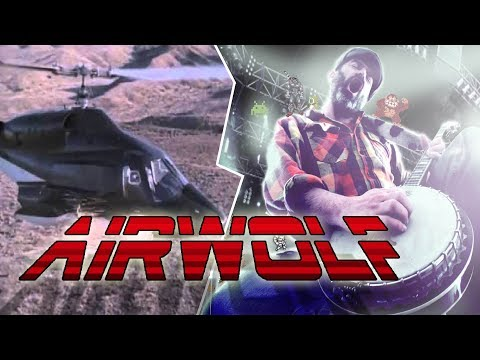 Airwolf Theme  Banjo