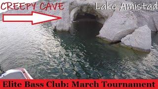 FUN Practice TOUGH Tournament Spring Bass Fishing Amistad Lake