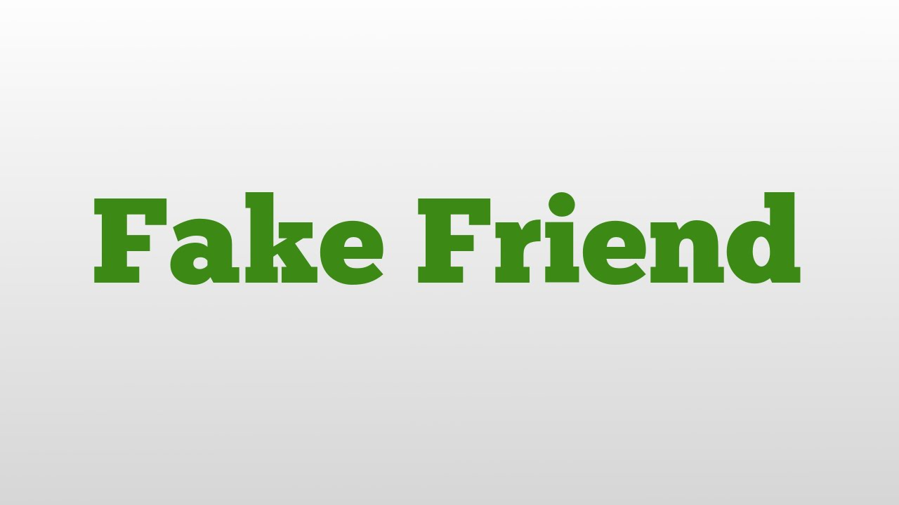 Fake And Youtube Meaning - Pronunciation Friend