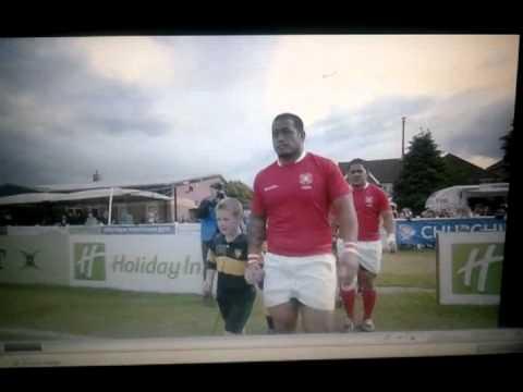 Tonga Vs USA. Pre Game