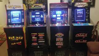 Arcade1Up In Depth Cabinet Review Pac Man Galaga Atari Deluxe and Street Fighter