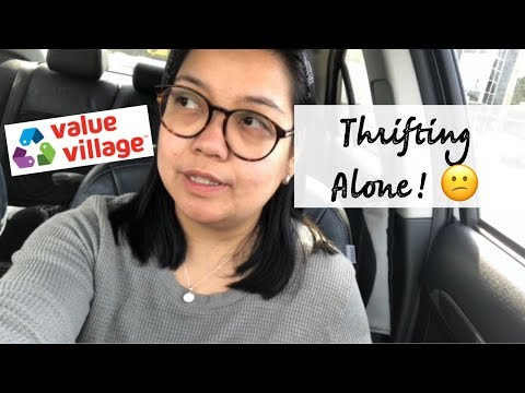 THRIFTING ALONE | Karl Lagerfeld, Nike, Roots & More