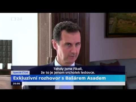 Exclusive interview of President Bashar al-Assad of Syria.