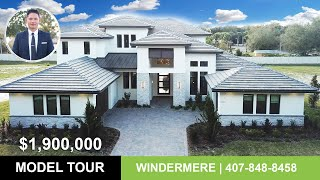 Windermere Luxury Model Tour | Montalcino Model $1,900,000 | Arthur Rutenberg | Orlando Home Finders