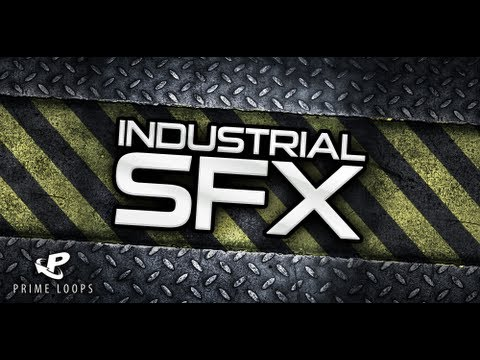 Industrial SFX, Industrial Sound Effects, Ambient Loops