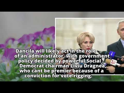 Romania to vote for first female premier amid protests