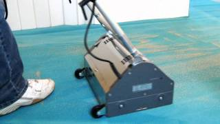 Low moisture carpet cleaning Sales & Marketing videos on dry carpet cleaning systems