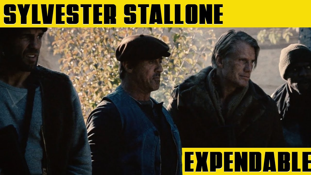 SYLVESTER STALLONE Defending the Village | THE EXPENDABLES 2 (2012)