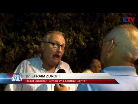 Dr. Efraim Zuroff, Israel Director, Simon Wiesenthal Center- Aug. 01, 2016