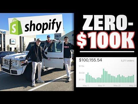 ZERO To $100k+ In 30 Days Shopify Dropshipping w/ Dan Dasilva!