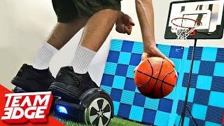 Hoverboard BASKETBALL Challenge!!