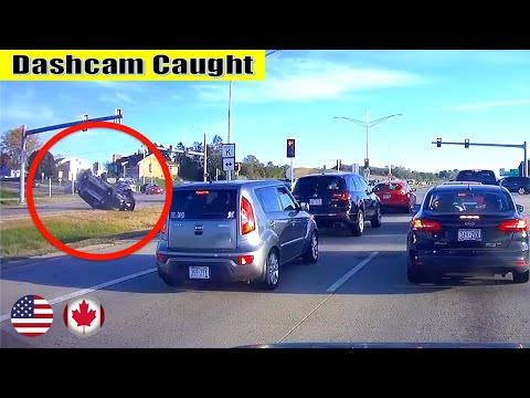 Ultimate North American Cars Driving Fails Compilation - 109 [Dash Cam Caught Video]