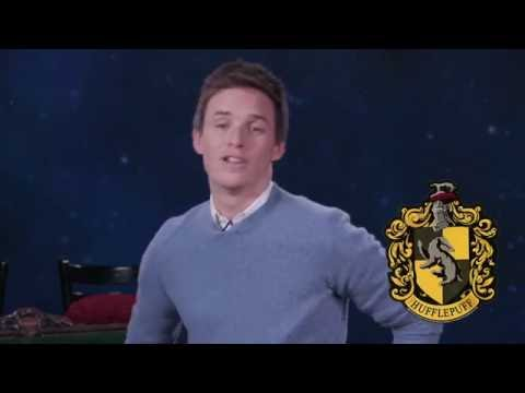 Eddie Redmayne Is A Hufflepuff PSA  After Hours  MTV